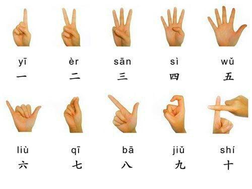 китайский счет математики