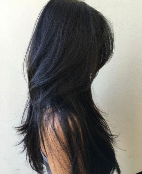 Слои для увеличения объема для прямых волос