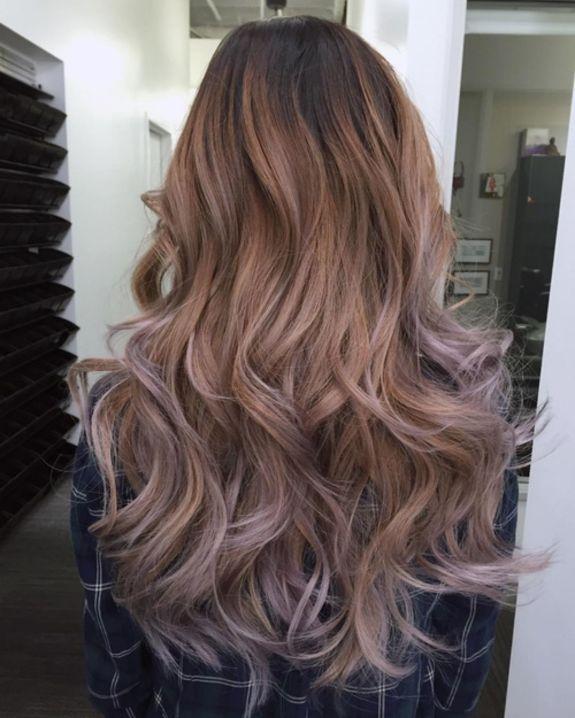 Объемные волосы Ombre со слоями