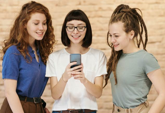 подростки-девушки